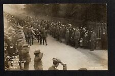 Wells - Military Funeral 1915, 133 Company M.T ASC - real photographic postcard