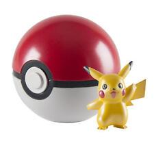 New TOMY Limited Edition Pikachu 025 20th Anniversary Pokemon Figurine Pokeball