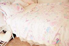 Sanrio Little Twin Stars Flannel Blanket Soft Bed Sheet Girl Bedding X'mas Gift