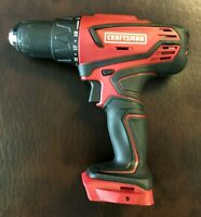 "New Craftsman 20v MAX 1/2"" Cordless Drill Driver 125.DD20A Bare Tool Only"