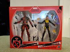 Hasbro X-men Marvel Legends 6'' Deadpool and Negasonic Teenage Warhead Action F?