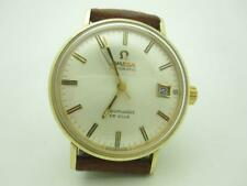 Vintage Omega Seamaster Deville Stainless Steel Gold Filled Watch