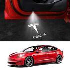Tesla Model 3&Y&S&X LED Puddle Car Door Lights Accessories 2 Pack (White Light)