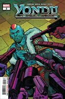 Yondu #2 Cully Hamner Cover Marvel Comic 1st Print 2019 unread NM
