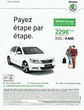 publicité Advertising 117  2012  la Skoda Octavia  Tour de France