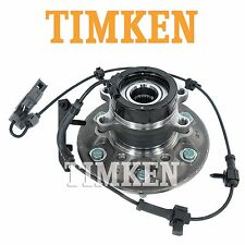 Front Driver Left Wheel Bearing & Hub Assembly Timken For Chevy GMC Isuzu 4WD