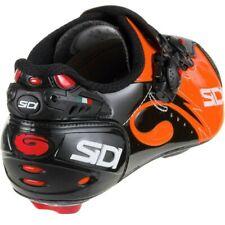 Sidi Wire Push Carbon Cycling Shoes, Orange/Black, Men's (Size 41)