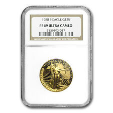 1/2 oz Proof Gold American Eagle PF-69 NGC (Random Year) - SKU #83513