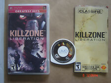 Video Game Sony PSP Kill Zone Liberation Greatest Hits Complete