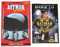 BATMAN DAY 2019 Set, Batman Who Laughs, Nightwalker, Free Shipping! DC Comics