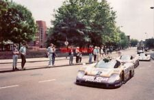 PHOTO  1988 COVENTRY JAGUARS IN LITTLE PARK STREET THE JAGUAR XJR-9LM CARS WHICH