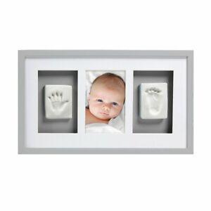PEARHEAD BABY PRINTS NEWBORN PHOTO HANDPRINT , FOOTPRINT FRAME & IMPRESSION KIT