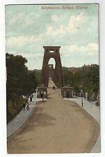 se england Somerset postcard english clifton suspension bridge