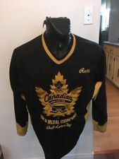 MENS XSMALL ROOTS Hockey Jersey CANADIAN OLYMPIC GOLD MEDAL 2002 SALT LAKE