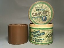Edison Concert Cylinder Brown Wax – Mandolin Solo With Variations