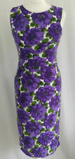 Jersey Wiggle, Pencil Floral Sleeveless Dresses for Women