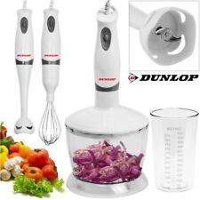 Frullatore Mixer a Immersione con Sbattitore Tritatutto Robot da Cucina Dunlop