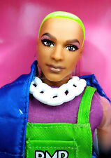 Barbie Ken BMR1959 Doll Black Label Green Hair BNIB