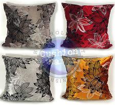 Velvet Floral Modern Decorative Cushions