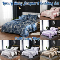 Nordic Luxury Duvet Quilt Cover With Pillowcases Bedding Set Single Double   !*