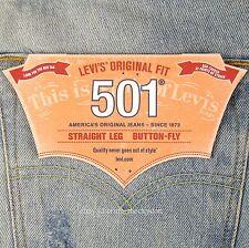 Levis 501 Jeans New Mens Size 36 x 34 EXTREME DISTRESSED Lt Blue Original Levi's