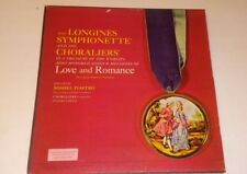 Love & Romance 6 LP Box Set from The Longines Symphonette Society LW102