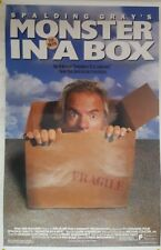 "MONSTER IN A BOX Original 1992 SS Movie Poster 27"" x 40"" Spalding Gray (M94)"