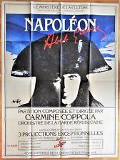 NAPOLEON * ABEL-GANCE * (1927 / R-1982 ) * DIEUDONNE * ARTAUD * Raymond MORETTI