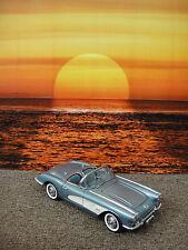 DANBURY MINT 1959 CORVETTE BLUE 1:24 DIECAST MODEL CAR