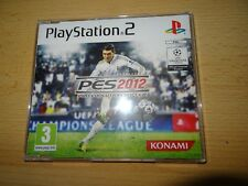 Pro Evolution Soccer 2012 PS2 Promo new unsealed