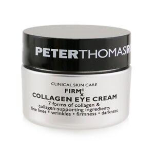 NEW Peter Thomas Roth FIRMx Collagen Eye Cream 15ml Womens Skin Care