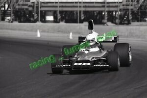 1975 Formula 5000 racing photo negative Jody Scheckter Riverside, California