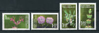 Turkish Northern Cyprus 2017 MNH Endemic Plants 4v Set Flowers Nature Stamps