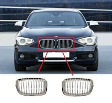 FOR BMW 1 SERIES 11-15 URBAN EDITION NEW FRONT BUMPER CENTER UPPER GRILLE PAIR