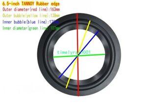 """1pcs 6.5/8/10"""" inch Speaker Surround Rubber Edge Home Audio repair For TANNOY"""