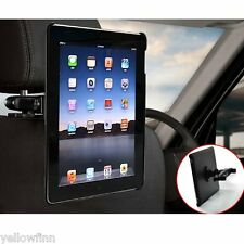Everything Tablet Travel Headrest Seat Car Holder Mount for original iPad  2 3 4