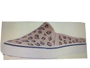Women's Keds Double Decker Leopard Mule Sneakers Size 9 ~ NWT