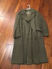 WW2 British Army Coat wartime dated 1940 Pattern