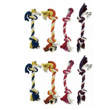8 Pack Dog Teething Aid and Cleaning 6 inch Rope Toys