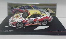 PORSCHE 911 GT3 RS 24 HORAS LE MANS 2003 PASION VITESSE ALTAYA IXO 1/43