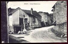 cpa 21 Seigny Cabine Téléphonique . téléphone  ( Côte D'Or ) Bourgogne .1934