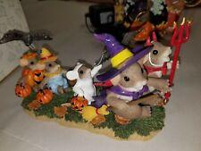 "New ListingCharming Tails By Fitz & Floyd, ""We'Re A Kooky Spooky Family Halloween decor"