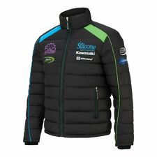 Official Silicone Kawasaki Team Green TT Dean Harrison Padded Jacket Size Small