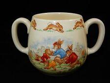 Royal Doulton Bunnykins 2 Handled Child's Earthenware Mug Cup