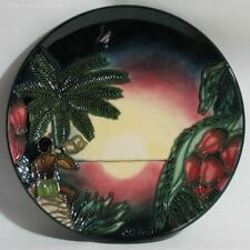 Boxed Moorcroft 2000 Millennium Year Plate, Birth of Light, des. Slaney