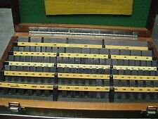 ELLSTROM-DEARBORN GAGE- RECTANGULAR GAGE BLOCKS SET-81 PCS.-ITEM R1