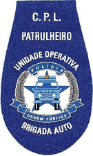 PATCH POLICE OF ANGOLA AUTO BRIGADE PATROL EB00631 AFRICAN