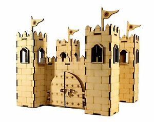 3D Puzzle Castle Big Size and Indian Fort, Construction Toy, Modeling Kit Puz