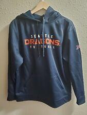XFL Football Seattle Dragons Official Hoodie Sweatshirt Size Medium M