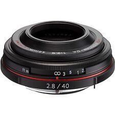 PENTAX HD PENTAX-DA 40mm F2.8 Limited Lens K mount Japan model NEW Black